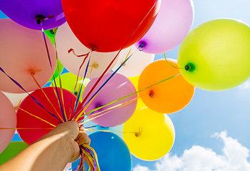 Ballonnen per kleur
