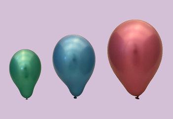 Ballonnen per grootte