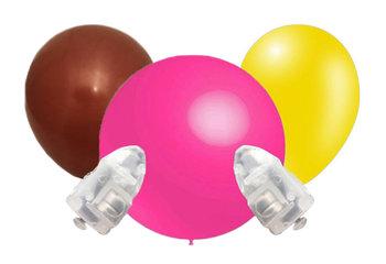 Ballonnen met lampje