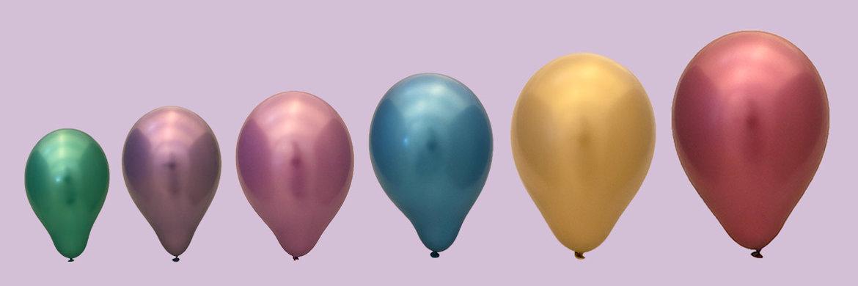 Ballonnen-per-grootte