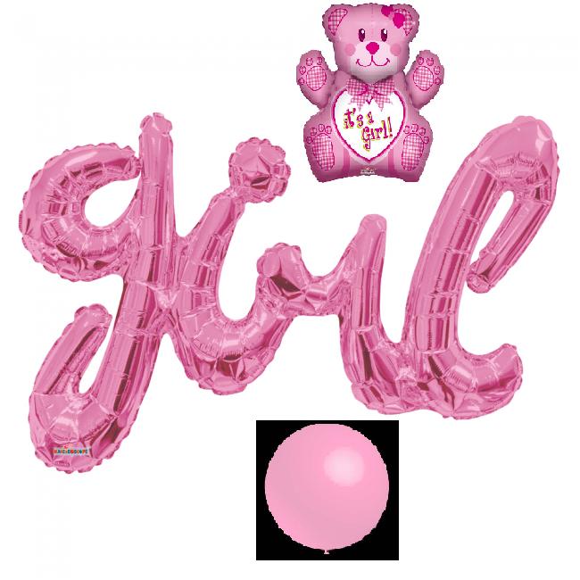 Ballonnenpakket-geboorte-meisje