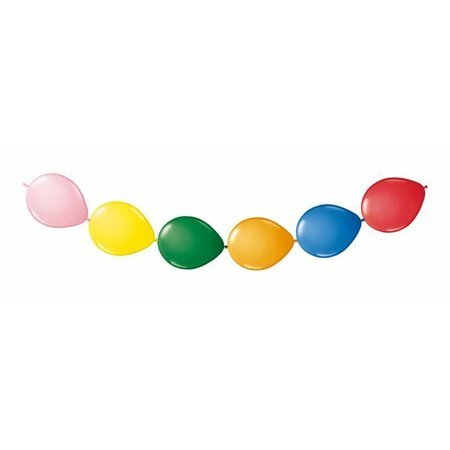 20 stuks knoopballonnen. diverse kleuren.