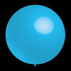 50 stuks - Decoratieballonnen blauwe 30 cm professionele kwaliteit