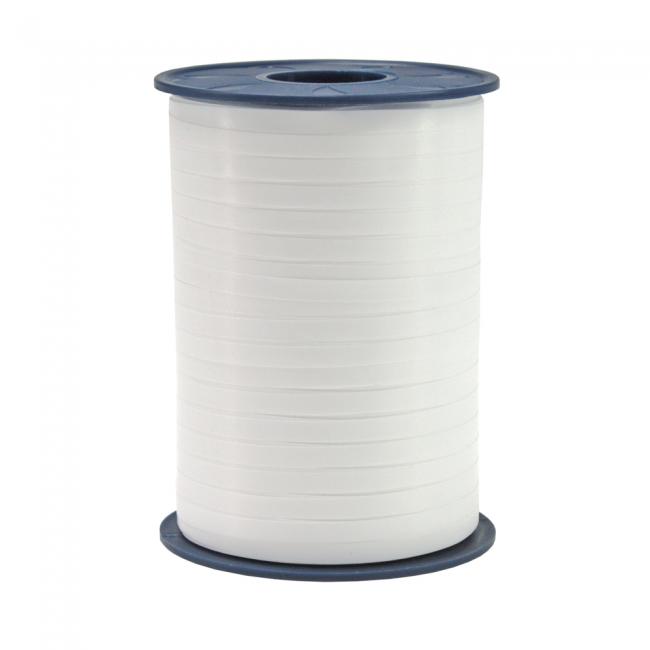 Ribbon spool 500 m x 5 mm white