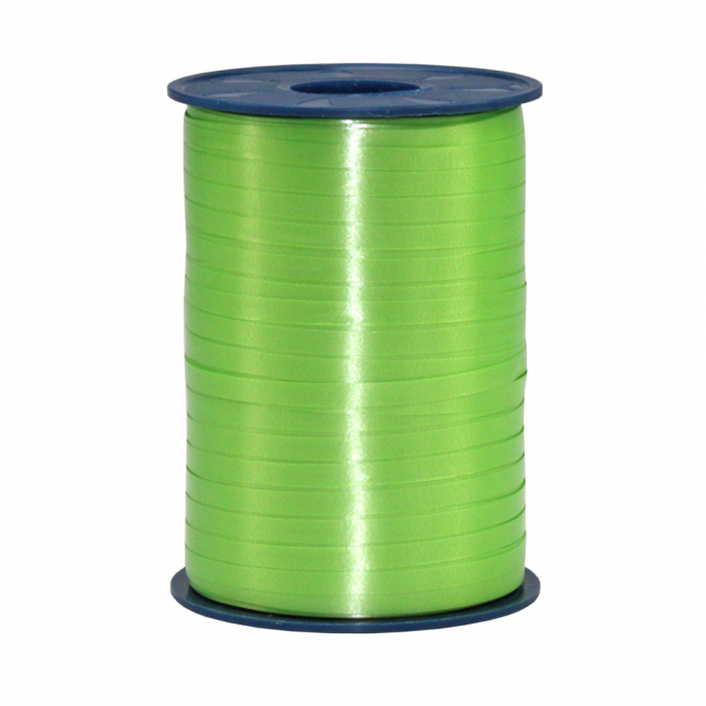 Ribbon spool 500 m x 5 mm Apple green