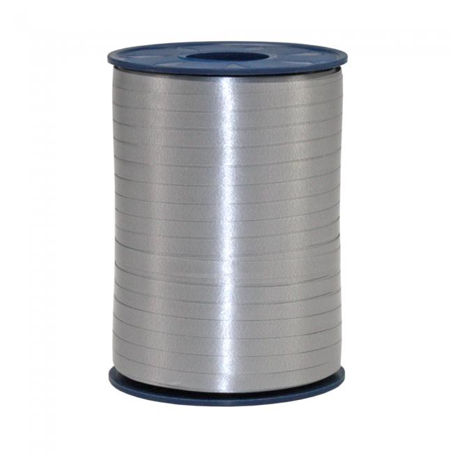 Ribbon spool 500 m x 5 mm silver