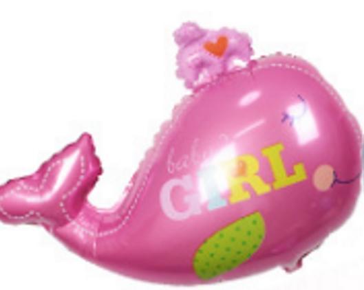 Folie ballon geboorte girl 88*72 cm