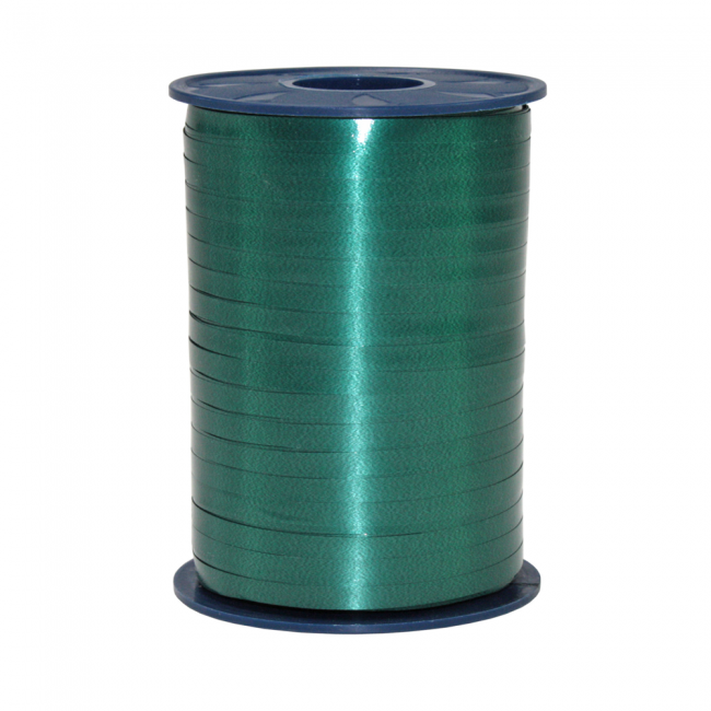 Ribbon spool 500 m x 5 mm dark green