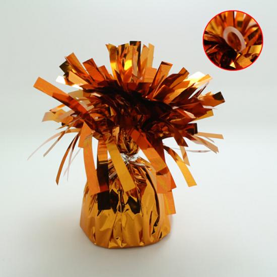 5 stuks - Ballonnengewichten voor op tafel orange