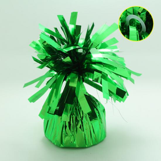 5 stuks - Ballonnengewichten voor op tafel green