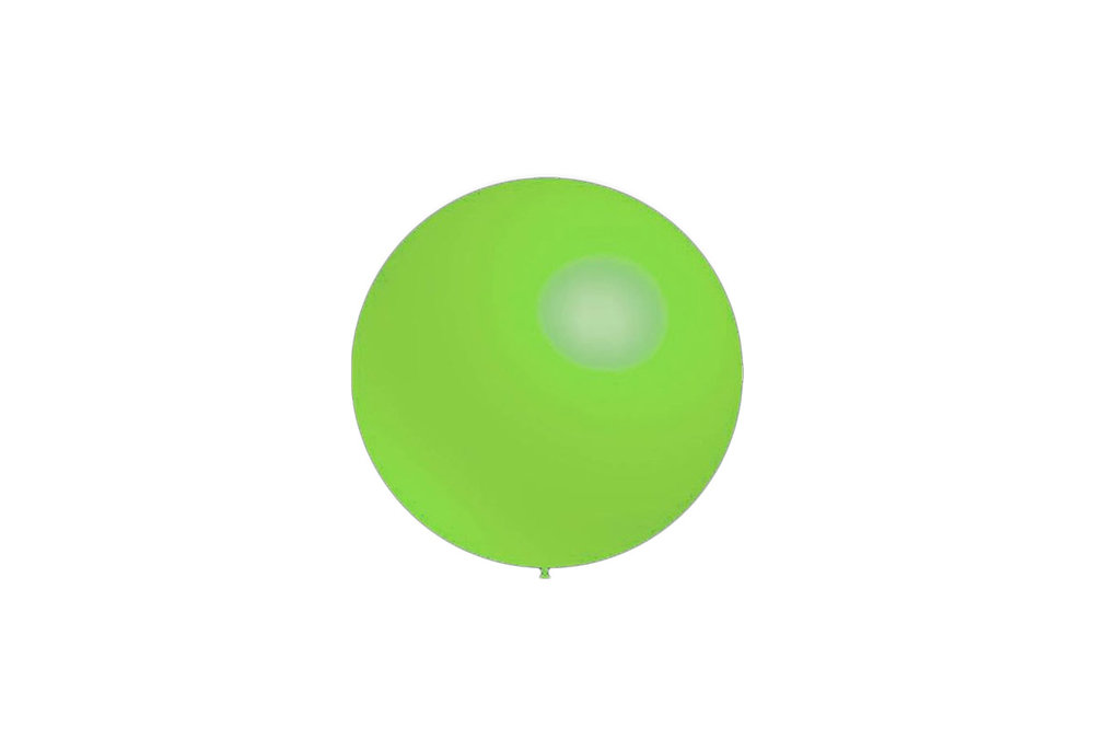 10 stuks - Decoratieballonnen munt groen 28 cm professionele kwaliteit
