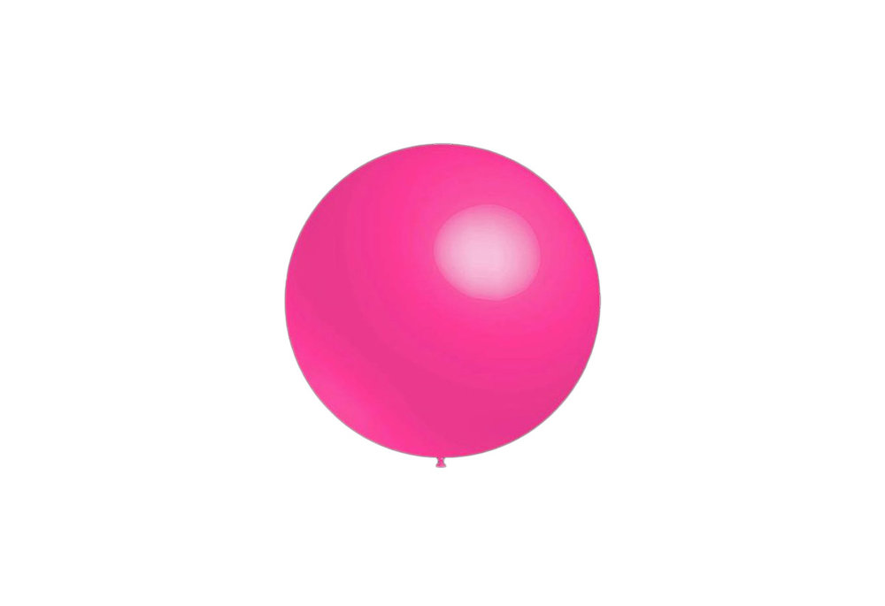 100 stuks - Decoratieballonnen roze 28 cm professionele kwaliteit