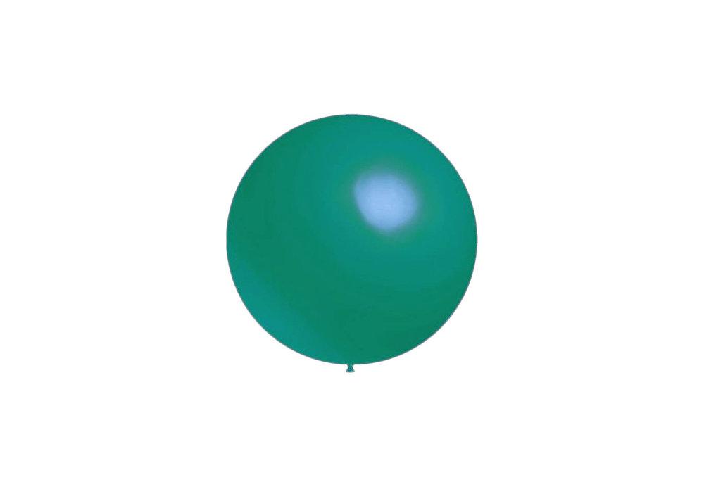 100 stuks - Decoratieballonnen turquoise 28 cm professionele kwaliteit