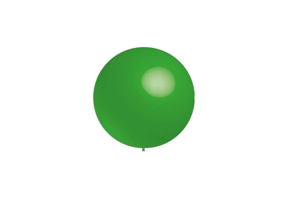 100 stuks - Decoratieballonnen licht groen 28 cm professionele kwaliteit