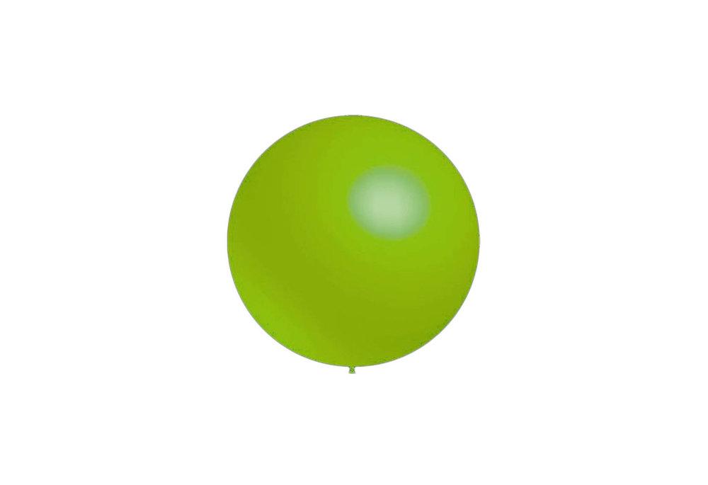 100 stuks - Decoratieballonnen lime groen 28 cm professionele kwaliteit