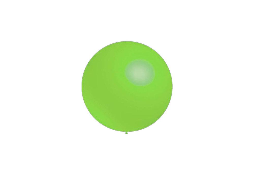 100 stuks - Decoratieballonnen munt groen 28 cm professionele kwaliteit