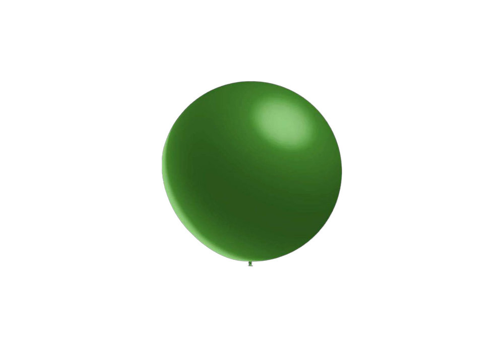 50 stuks - Metallic decoratieballonnen donker groen 28 cm professionele kwaliteit