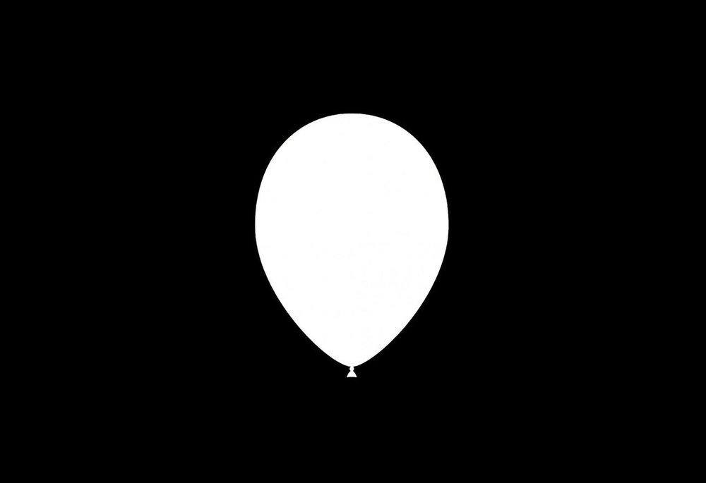 100 stuks - Feestballonnen metallic wit 26 cm professionele kwaliteit