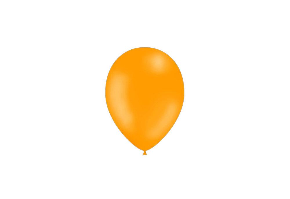 50 stuks - Feestballonnen geel 26 cm pastel professionele kwaliteit