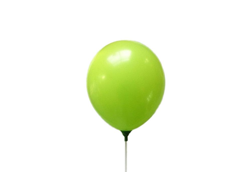 10 stuks - Licht groene parelmoer metallic ballon 30 cm hoge kwaliteit