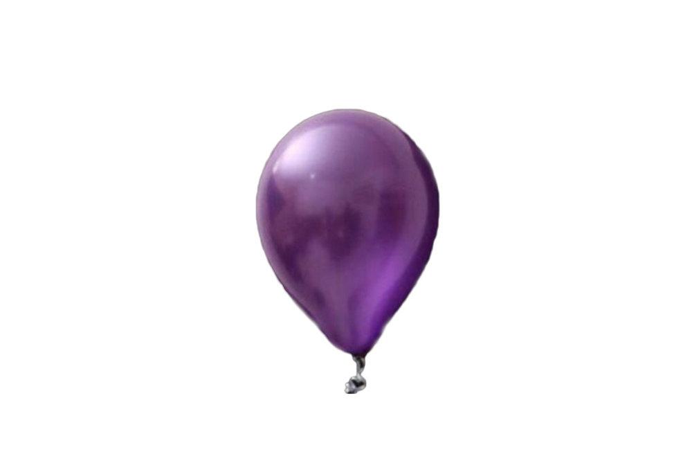 100 stuks - donkerpaars parelmoer metallic ballon 30 cm hoge kwaliteit