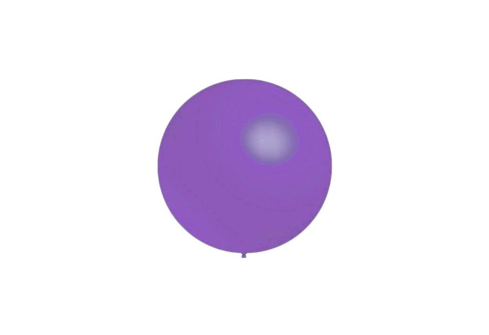 50 stuks - Decoratieballonnen lavendel 28 cm pastel professionele kwaliteit