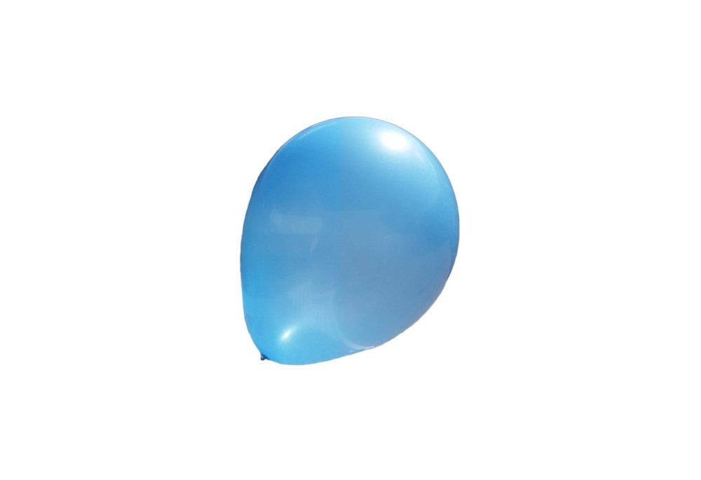 Mega grote blauwe ballonnen 90 cm