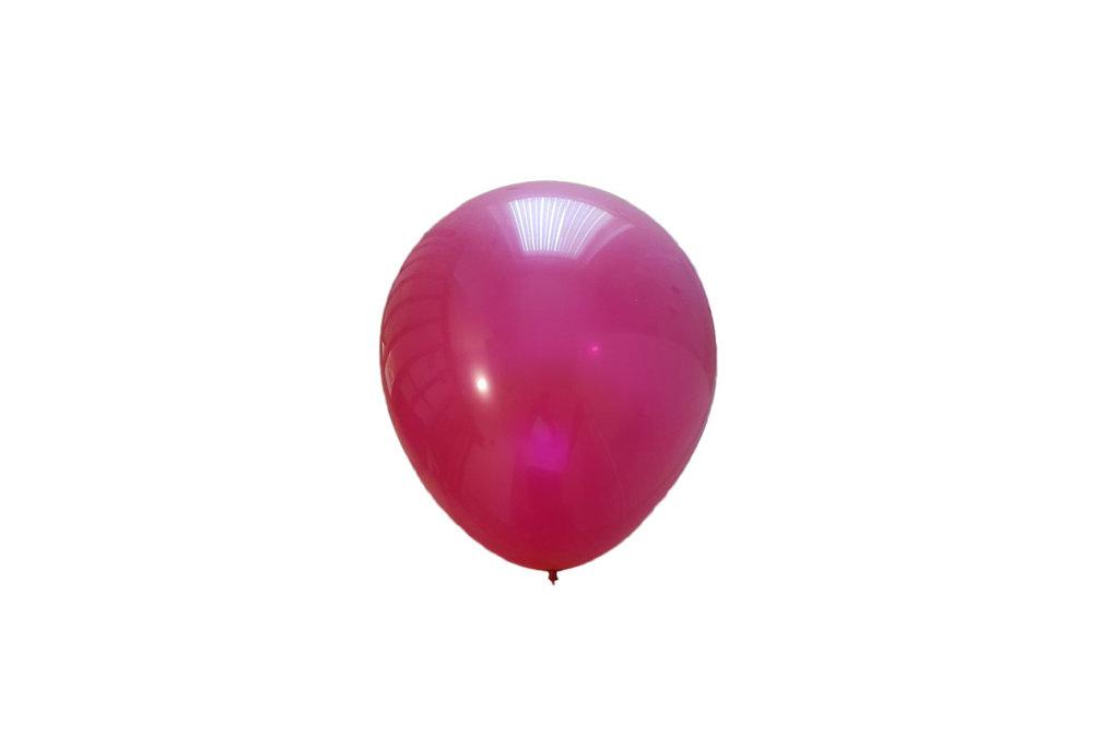Mega grote bordeaux-rode ballonnen 90 cm