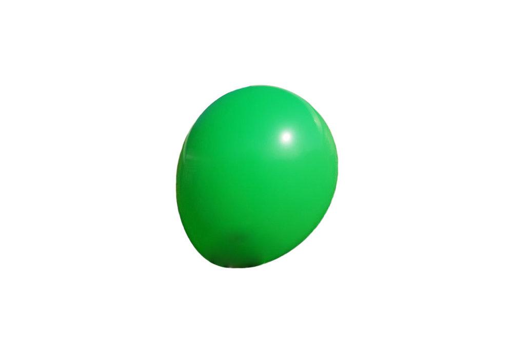 3 stuks Mega grote licht groene ballonnen 90 cm