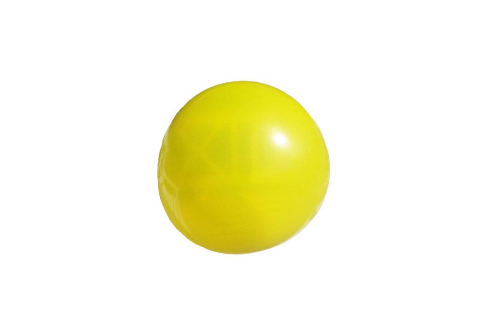 3 stuks Mega grote gele ballonnen 90 cm