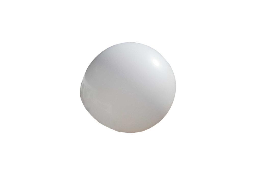 3 stuks Mega grote witte ballonnen 90 cm