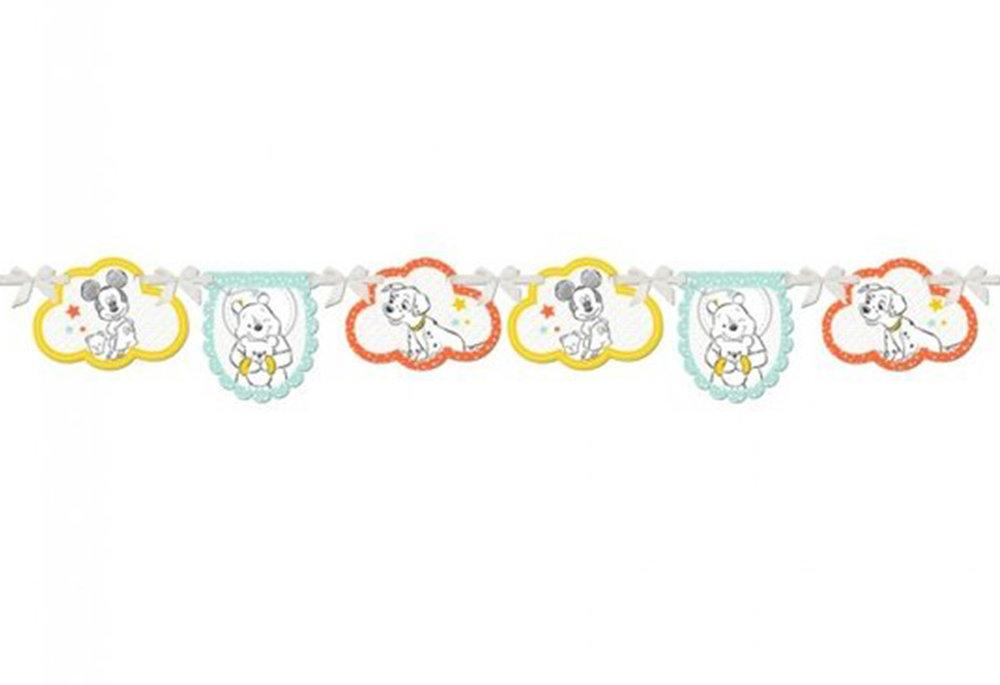 Vlaggen slinger baby shower