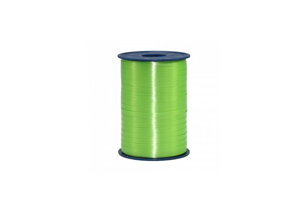 Ribbon spool 500 m x 5 mm Apple green