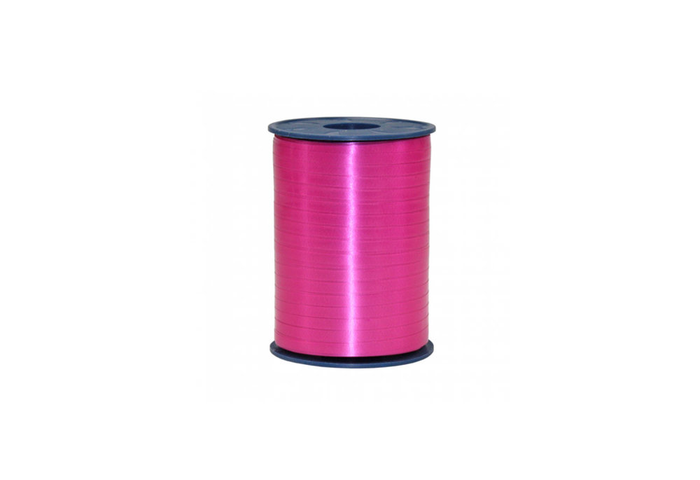 Ribbon spool 500 m x 5 mm hot pink