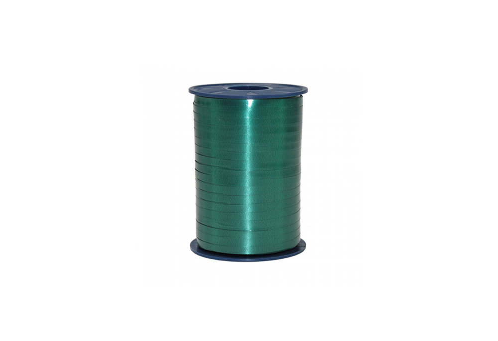 Ribbon spool 500 m x 5 mm dark green
