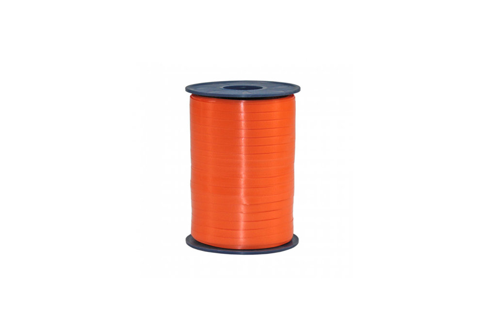 Ribbon spool 500 m x 5 mm orange