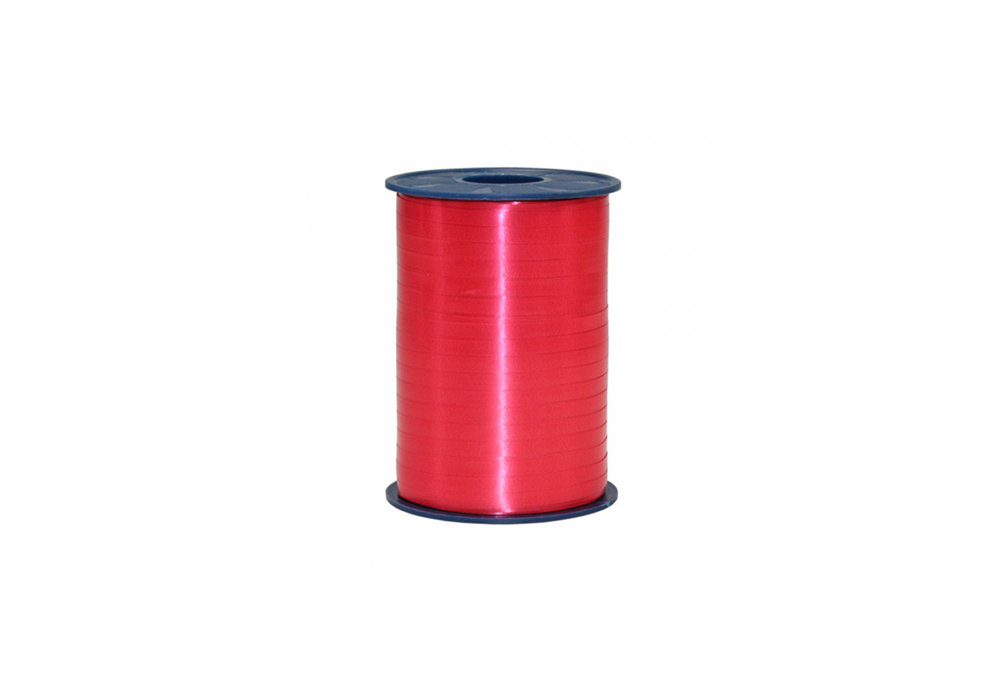Ribbon spool 500 m x 5 mm red