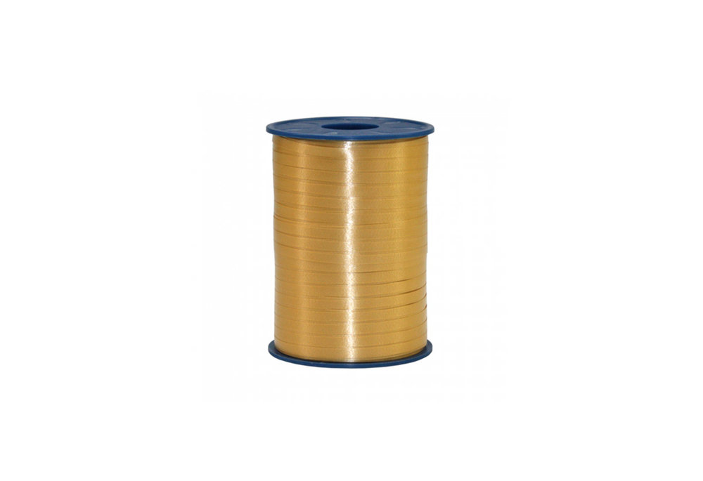 Ribbon spool 500 m x 5 mm gold