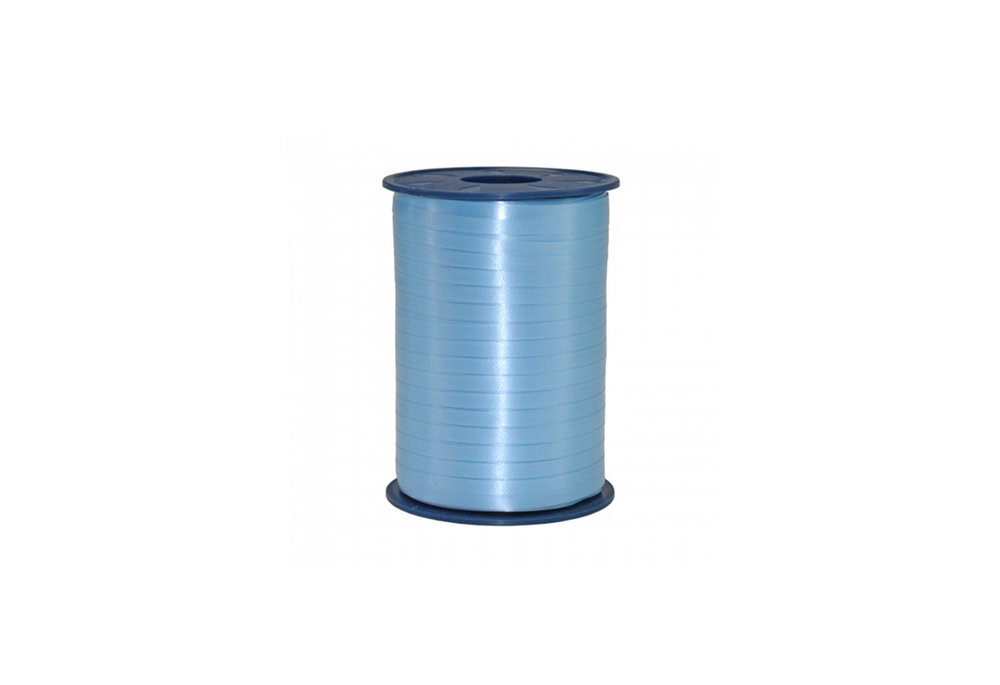 Ribbon spool 500 m x 5 mm light bue
