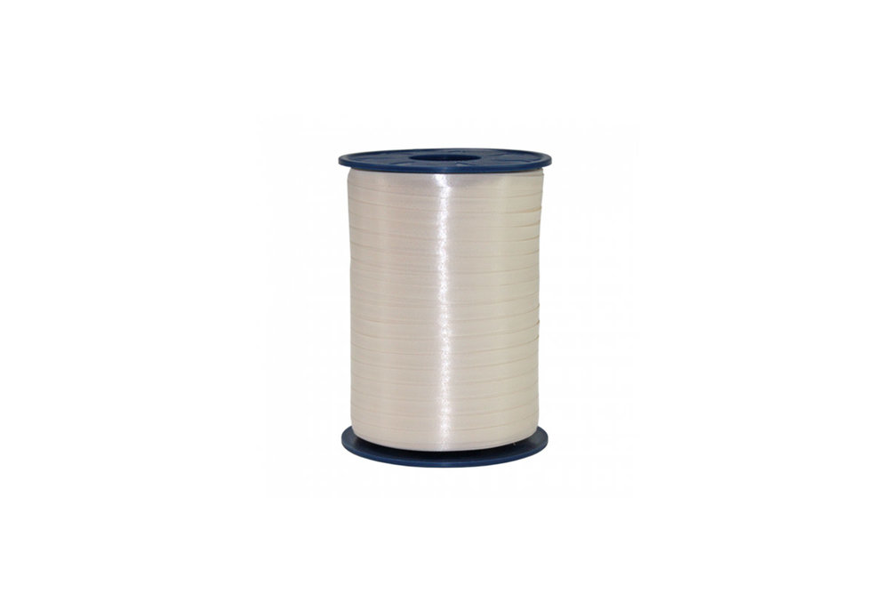 Ribbon spool 500 m x 5 mm ivory