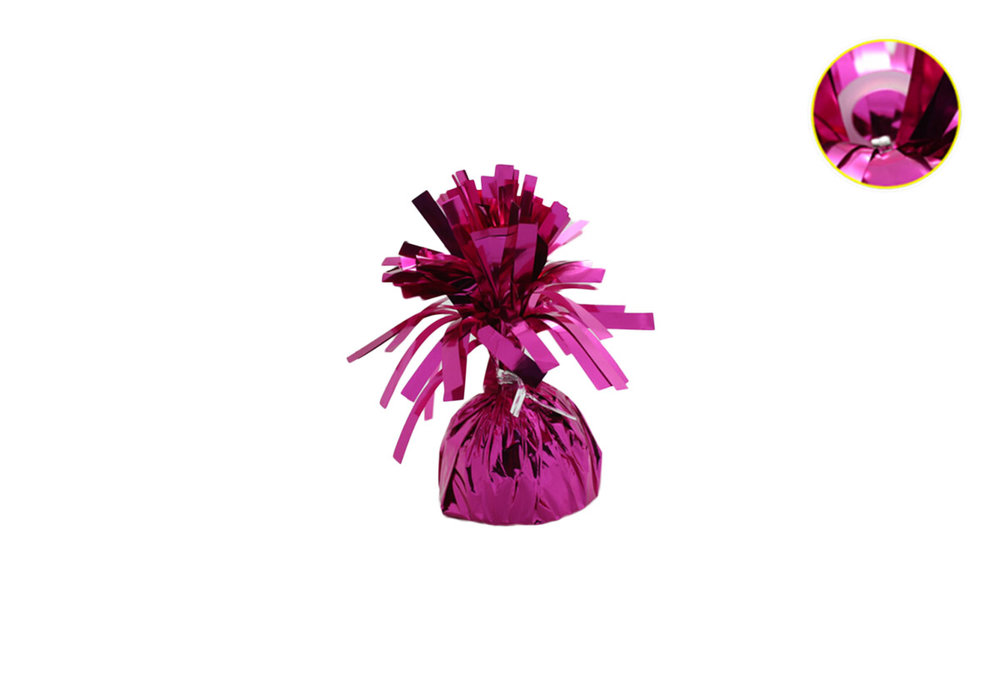 5 stuks - Ballonnengewichten voor op tafel fuchsia