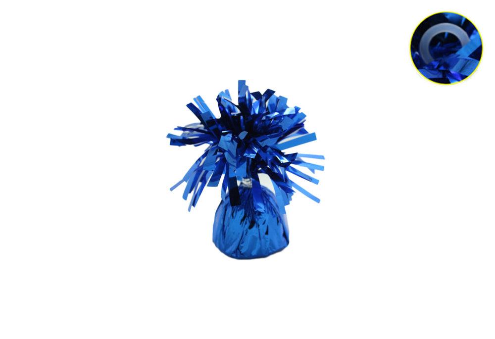 5 stuks - Ballonnengewichten voor op tafel royal blue