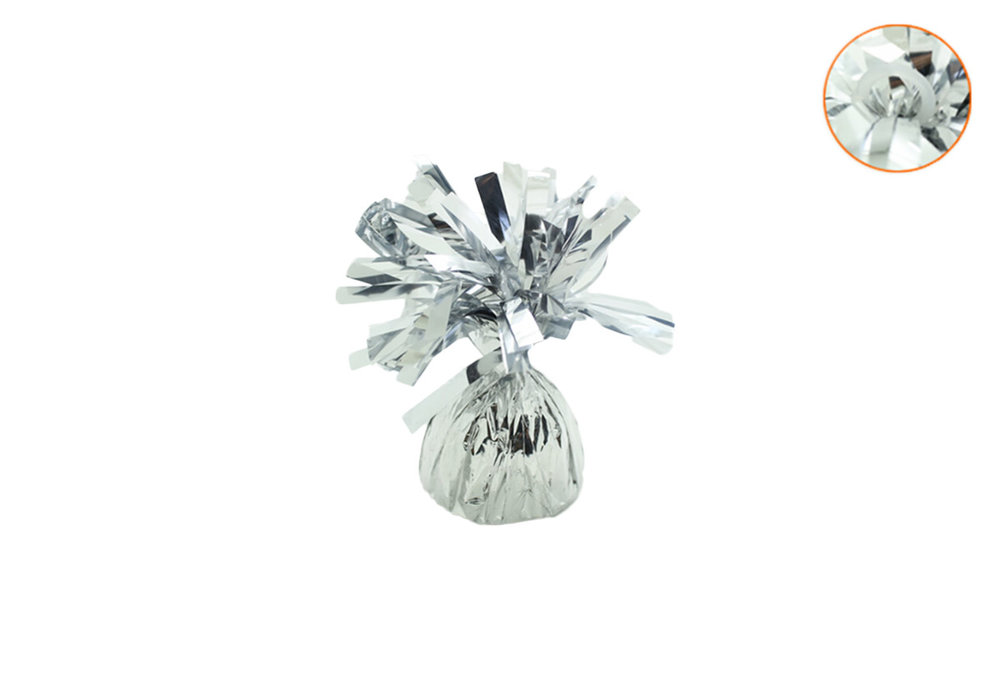 5 stuks - Ballonnengewichten voor op tafel silver