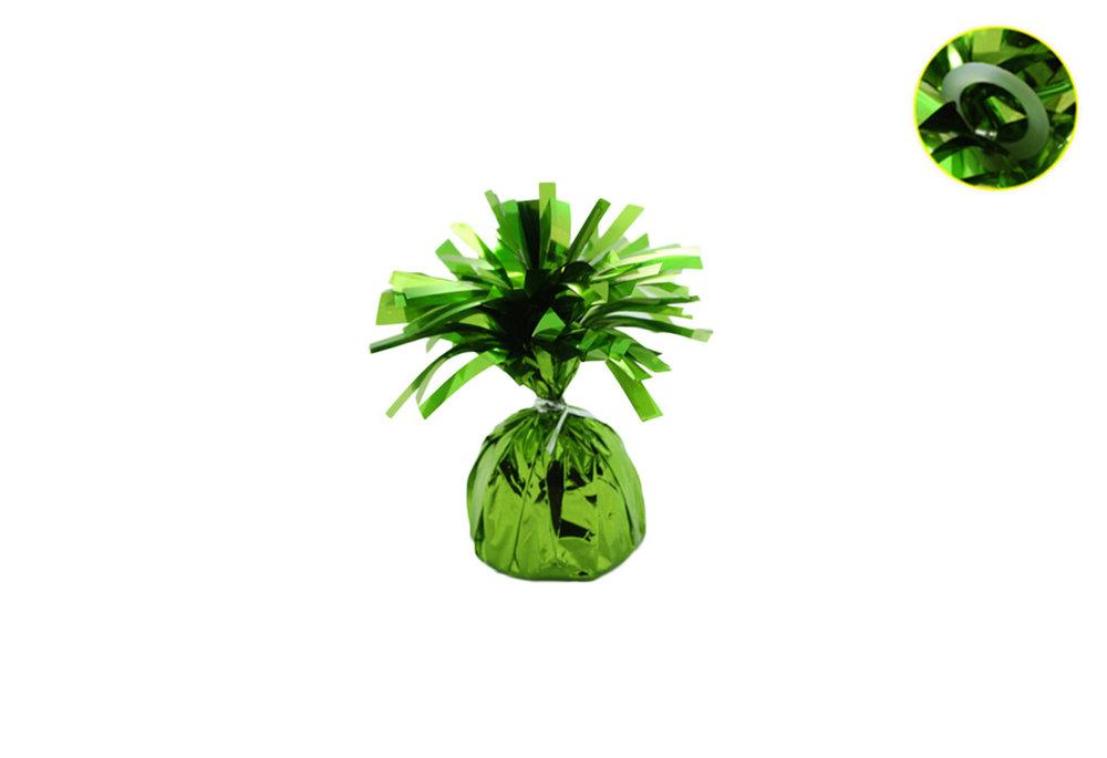 Ballon gewicht voor op tafel lime green