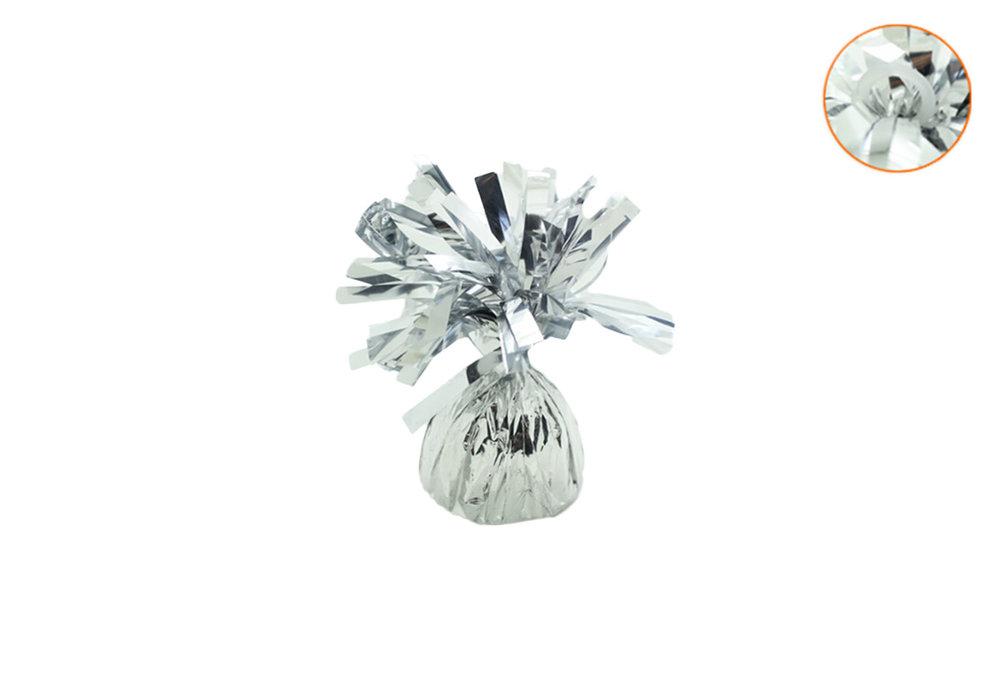 Ballon gewicht voor op tafel silver