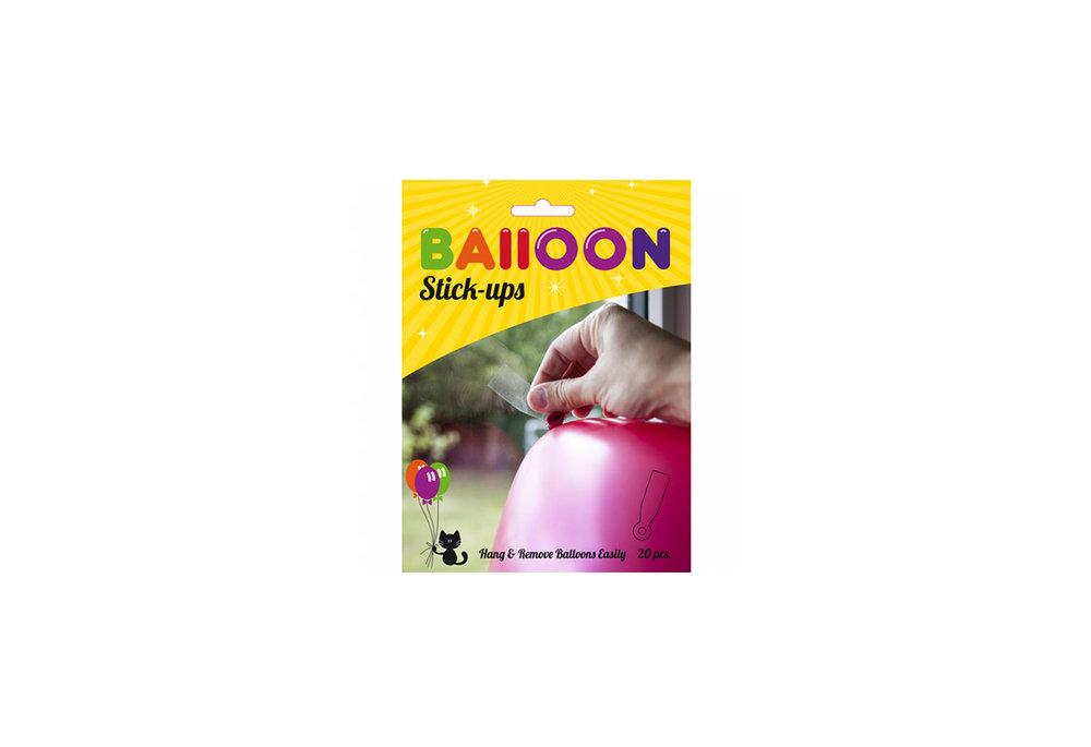 Een ballon stick-ups voor ballonnen