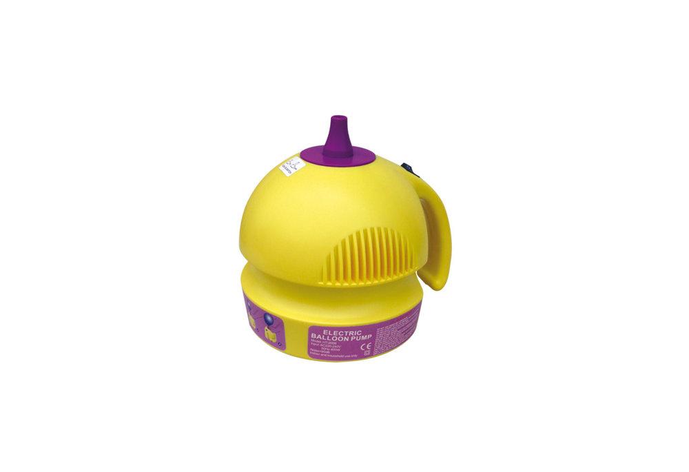 Ballonnenpomp elektrisch geel