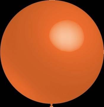 Decoratieballonnen oranje 30 cm pastel professionele kwaliteit