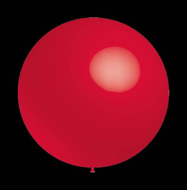 Decoratieballonnen pastel rode 30 cm