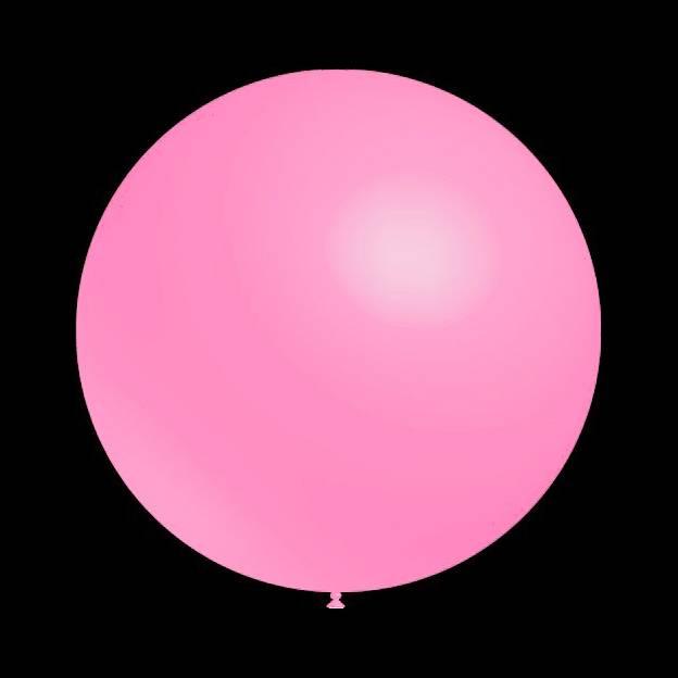 100 stuks - Decoratieballonnen baby roze 30 cm professionele kwaliteit
